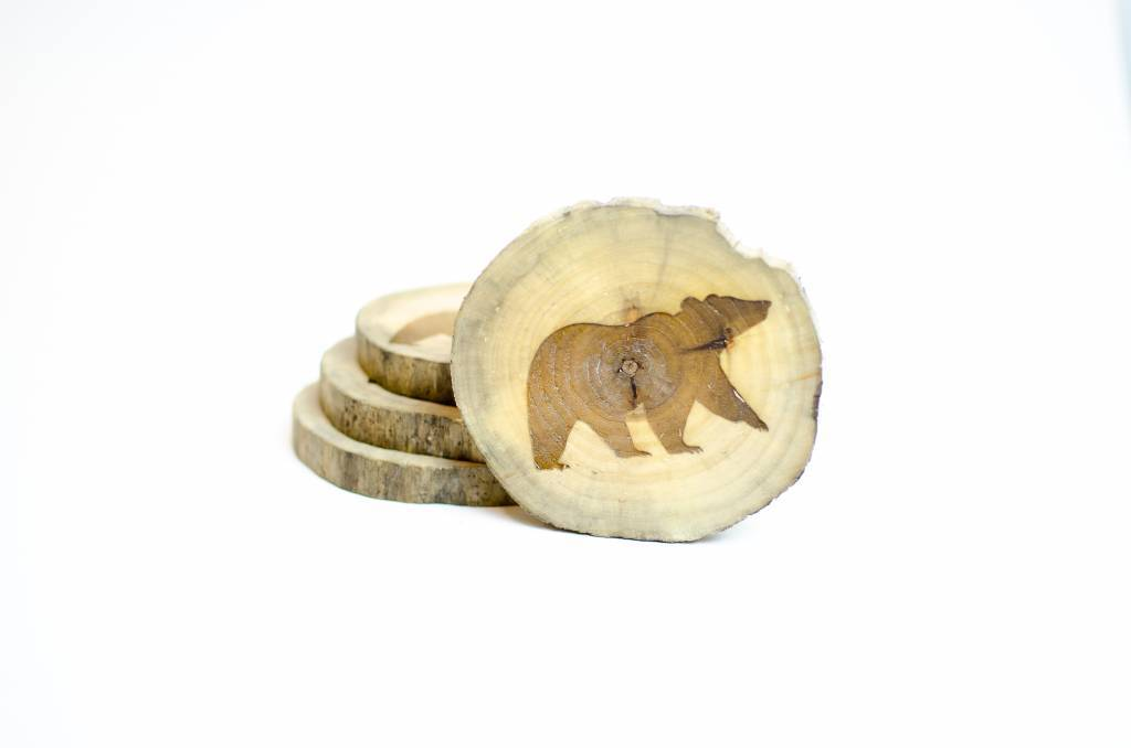 Studio Robazzo Bear Coasters (x4)
