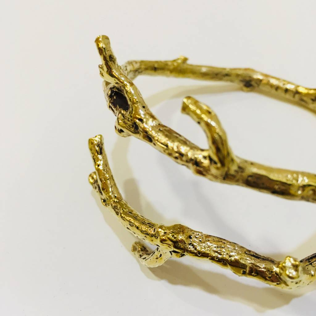 Brass Branch Bracelet