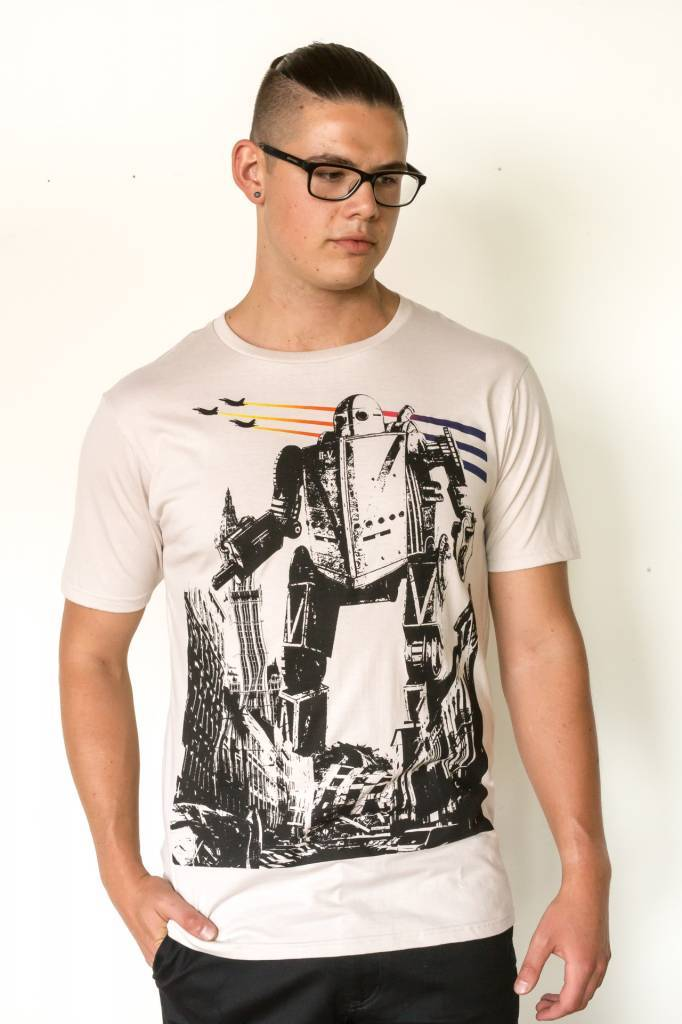 Graph (DT) Iron Giant in the City T-Shirt