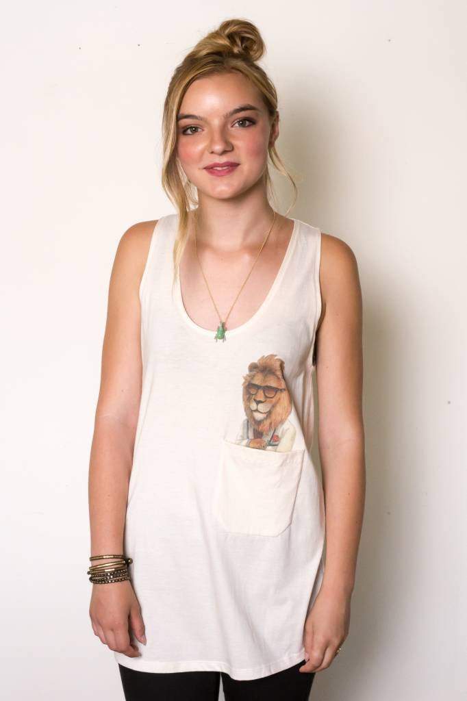 How Many T-shirts (DT) Lady-killer Lion Pocket Tank