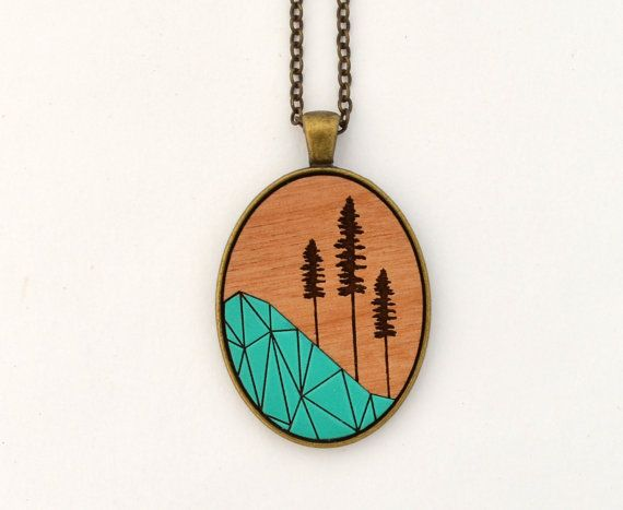 Sitka Oval Necklace Turquoise