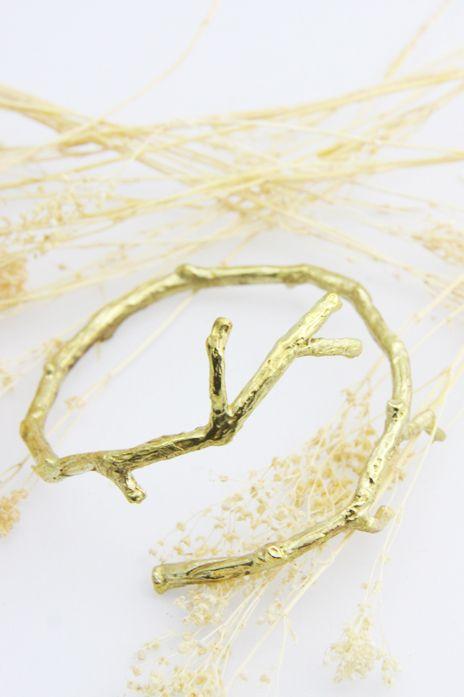Defy (DT) Brass Branch Bracelet