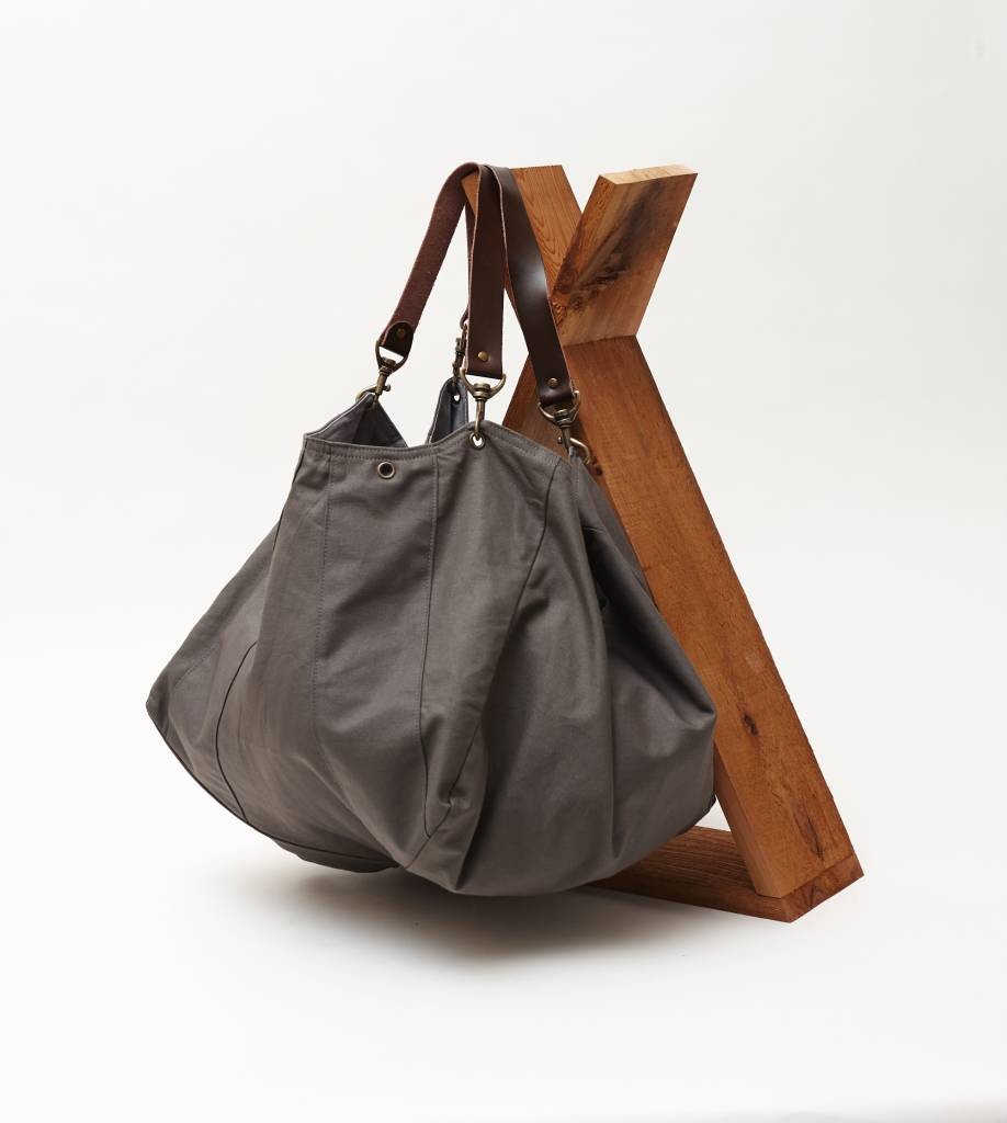 Pumpkin Bag - Dark Grey