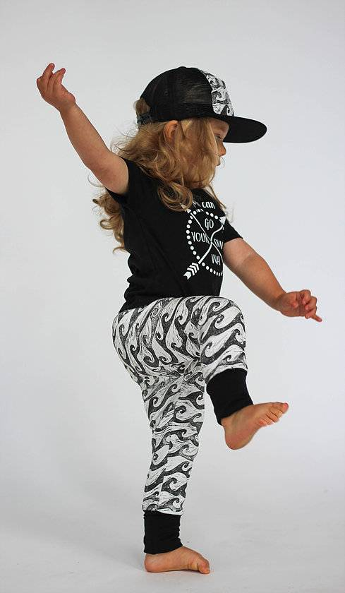 West Coast Waves Leggings