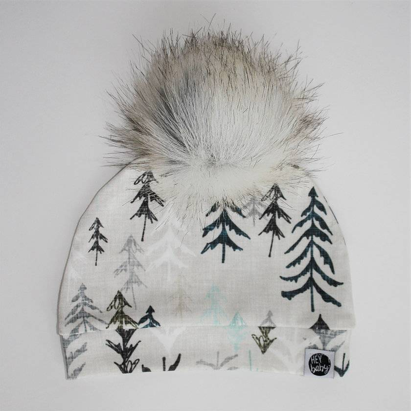 Cabin in the Woods Pom Beanie