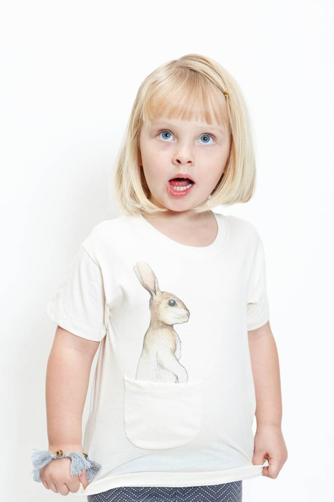How Many T-shirts (DT) Beloved Bunny Pocket Tee