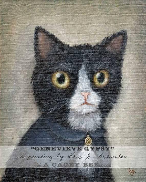Genevieve Gypsy 8x10 Print