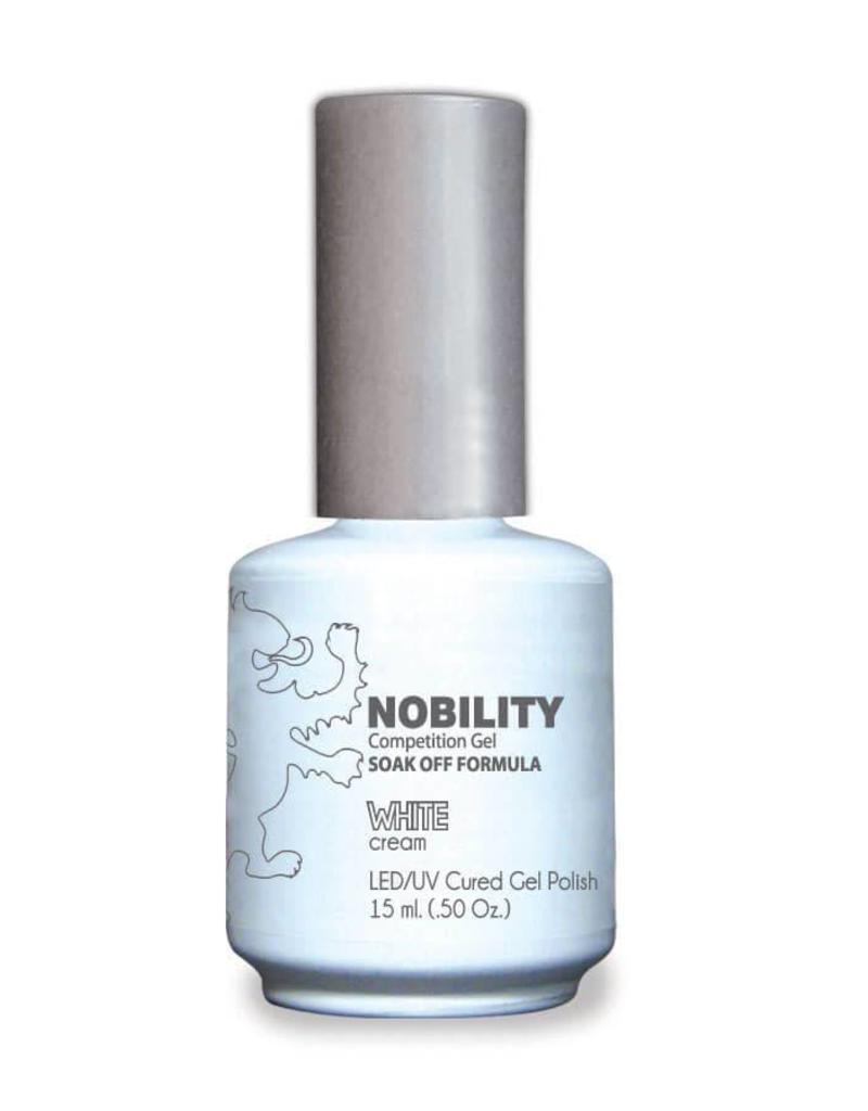 LECHAT NBGP01 White - Nobility Gel Polish - Jessica Nail Beauty Supply