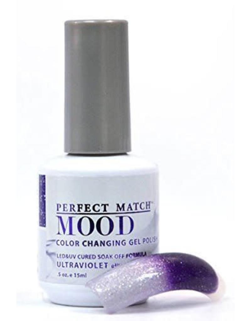 Perfect Match Ultra Violet Mpmg47 Mood Color Changing Gel Polish
