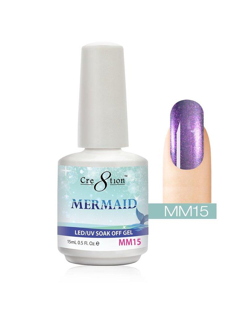 Cre8tion MM15 - Cre8tion MERMAID - Gel Polish - Jessica Nail Beauty ...