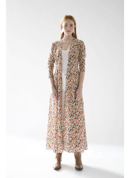We Are Leone Maxi Cardigan Floral