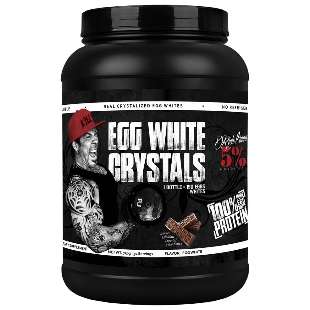 5 Percent Egg White Crystals