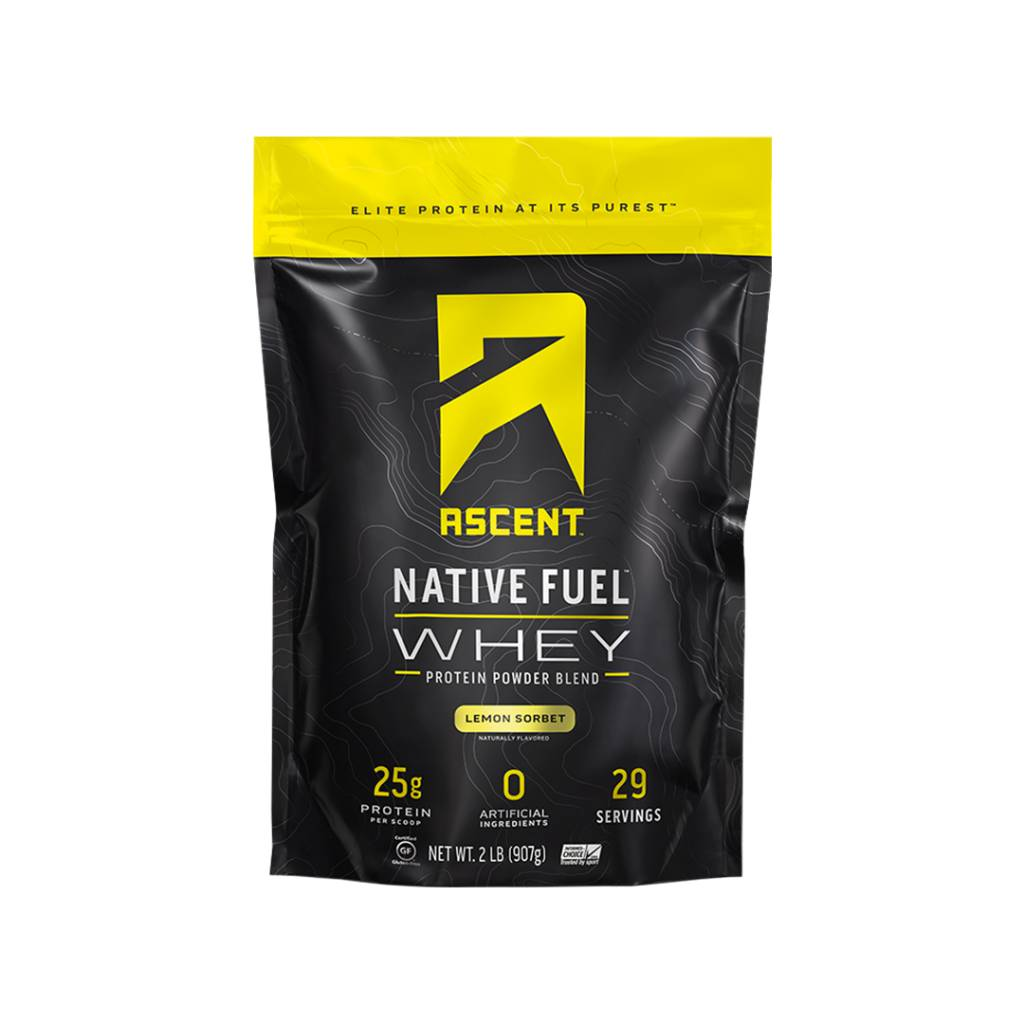 Ascent Protein Native Fuel Whey