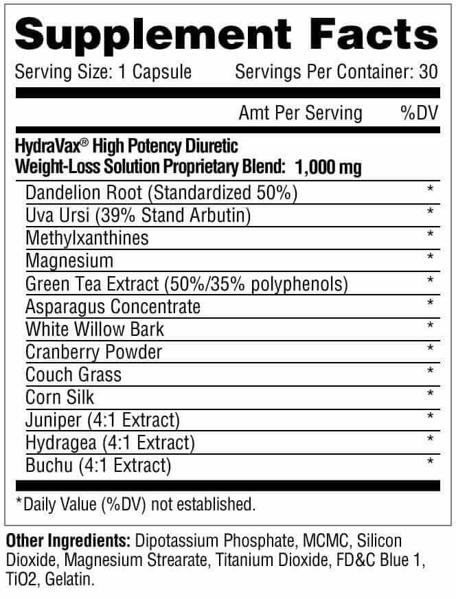 Metabolic Nutrition Hydravax