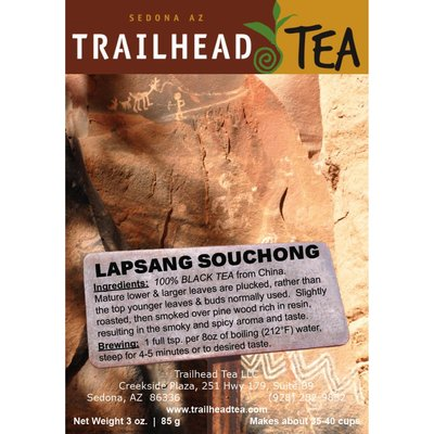 Tea from China Lapsang Souchong (Traditional Smoked)