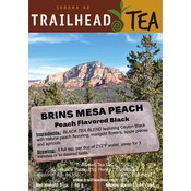 Tea from Sri Lanka Brins Mesa Peach