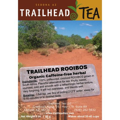 Herbal from South Africa Trailhead Rooibos