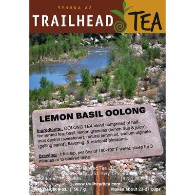 Tea from Taiwan Lemon/Basil Oolong