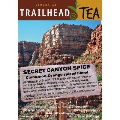 Tea from China Secret Canyon Spice