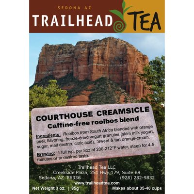 Herbal from South Africa Courthouse Creamsicle