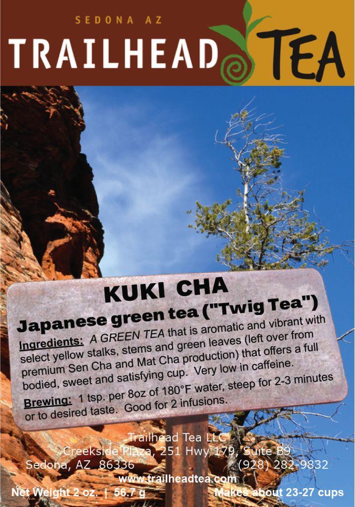 Tea From Japan Kuki Cha Trailhead Tea Sedona Amp Northern