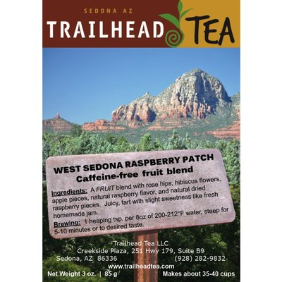 Herbal Blends West Sedona Raspberry Patch