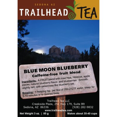 Herbal Blends Blue Moon Blueberry