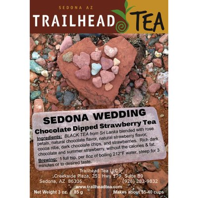 Tea from Sri Lanka Sedona Wedding