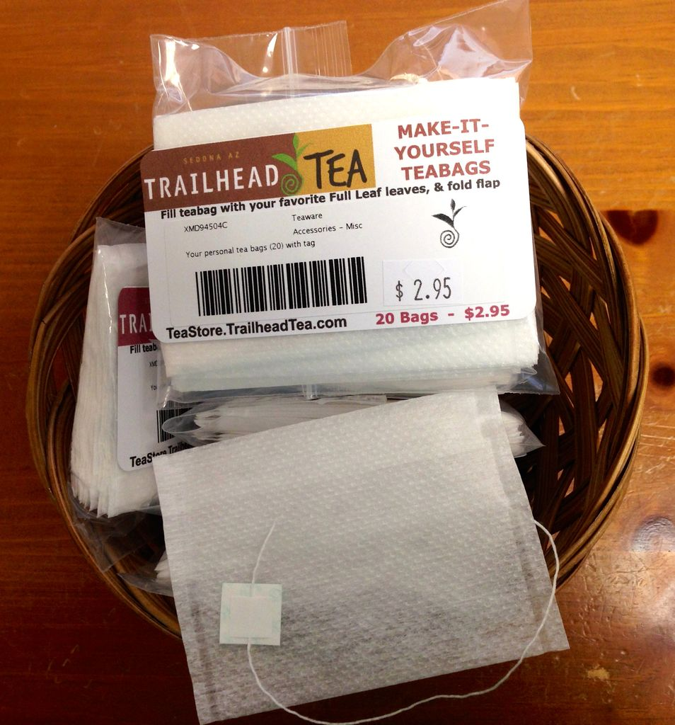 A tea bag - what is it How to make tea bag by yourself