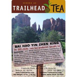 Off-Trail-Rare Bai Hao Yin Zhen King, Organic Silver Needle (Off-Trail White)