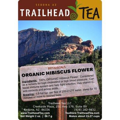 Botanical Botanical Organic Hibiscus Flowers (UPK)