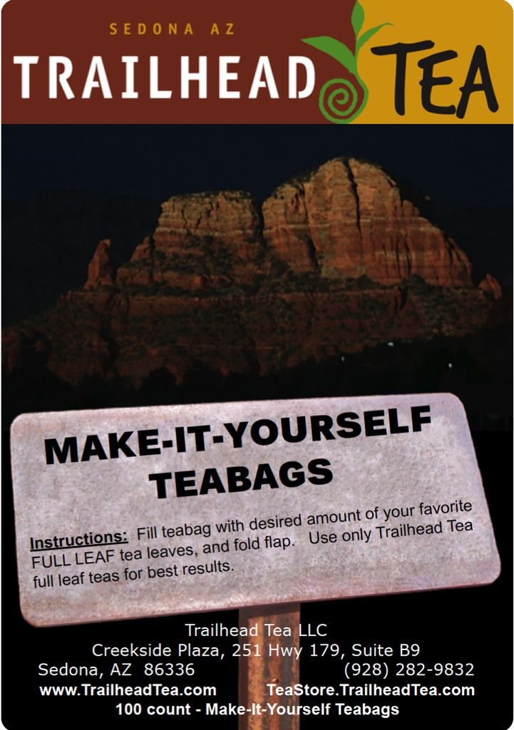 Teaware make it yourself tea bags 100 pack with tag trailhead teaware make it yourself tea bags 100 pack with tag solutioingenieria Choice Image