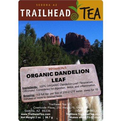 Botanical Botanical Organic Dandelion Leaf