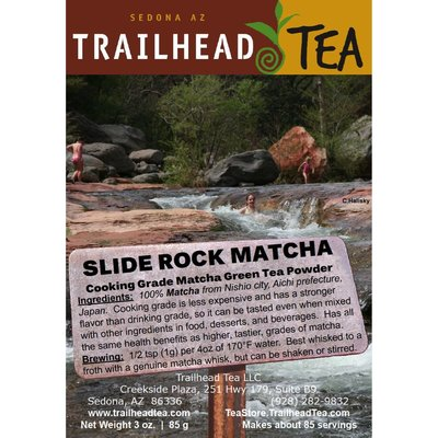 Tea from Japan Slide Rock Matcha (Cooking Grade)