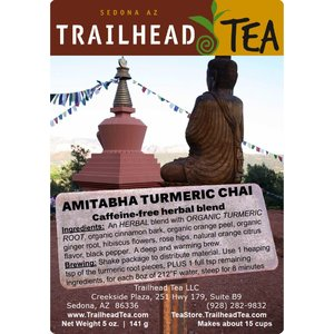 Herbal Blends Amitabha Turmeric Chai