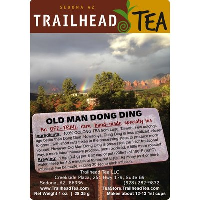 Off-Trail-Rare Old Man Dong Ding (Off-Trail Oolong)