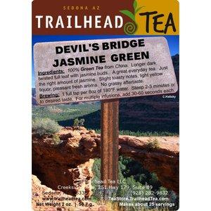 Tea from China Devil's Bridge Green Jasmine Blend