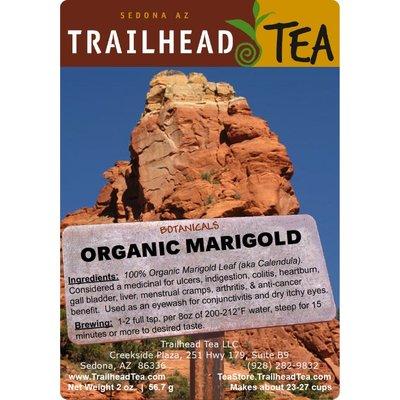 Botanical Botanical Organic Marigold Flower (Calendula)