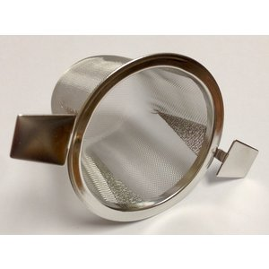 Teaware Tea Strainer (Stainless) With Two Handles