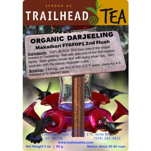 Tea from India Darjeeling FTGFOP1 Makaibari SF (Organic)