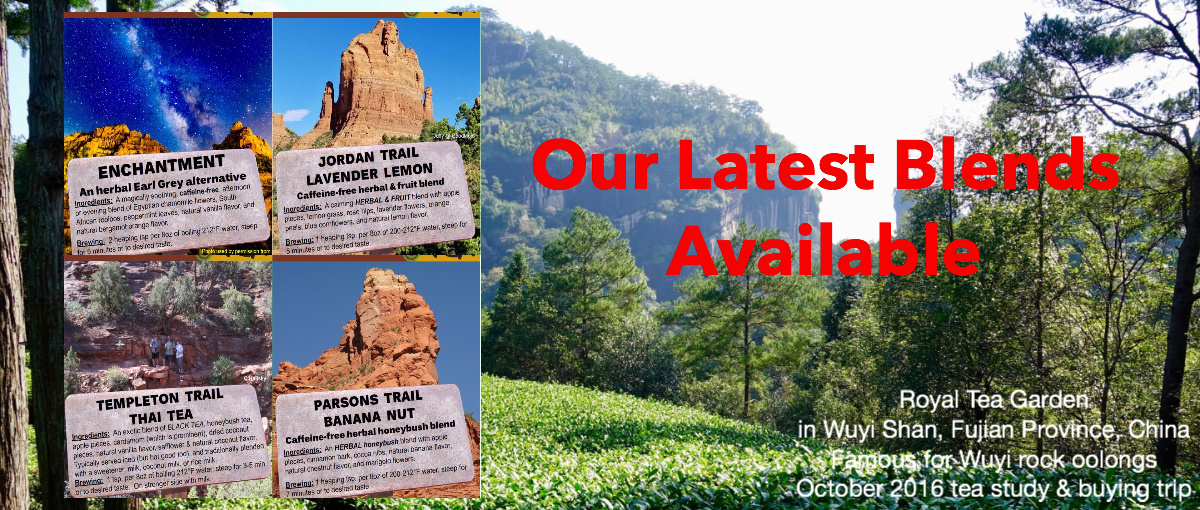 Trailhead Tea, Sedona & Northern Arizona's Tea Department Store banner 3