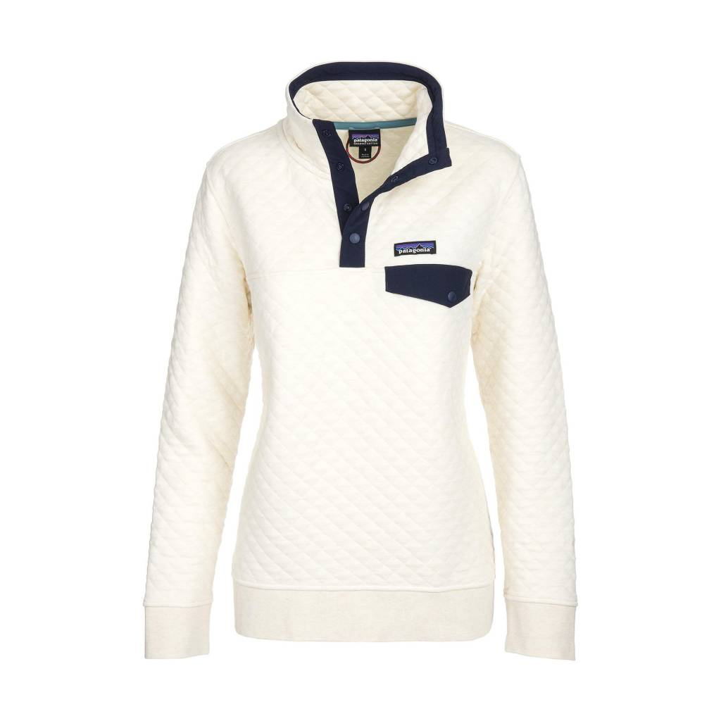 Cotton Quilt Snap-T P/o -Toasted White- Women's L