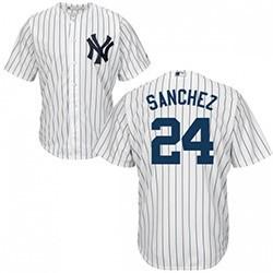 Yankees Jersey-Sanchez