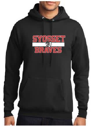 Port & Company Port & Co Syosset Braves Hoodie Youth Medium