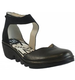 Fly London PATS801 - FLY LONDON SANDALES - ANTHRACITE