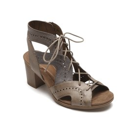 Cobb Hill CG9599 - COBB HILL HATTIE OPEN LACE - TAUPE MULTI