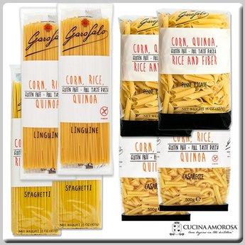 Garofalo Pasta Gluten Free Collection 8 Packs 8 Lbs