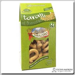 Tarall'oro Tarall'Oro Taralli Finocchio - Fennel 7 Oz Box (200g)