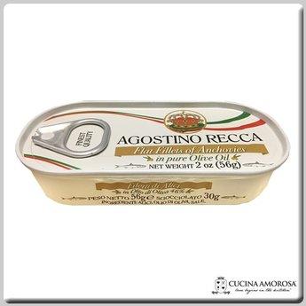 Agostino Recca Agostino Recca Fillets of Anchovies in Olive Oil (56g) 2 Oz Tin