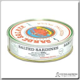 Agostino Recca Agostino Recca Sardine Salate 21 Oz (600g) Tin
